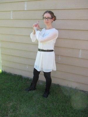 Star Wars is Disney now, so...Princess Leia :)