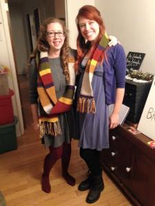 Day 5: And the season finale of Doctor Who!  Also, meet my amazing friend and teammate in this Dressember campaign, C.J.  She's also an awesome musician.  Here's her website: http://cj1687.wix.com/cjlassiter