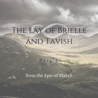 The Lay of Brielle and Tavish, by Beth Wangler