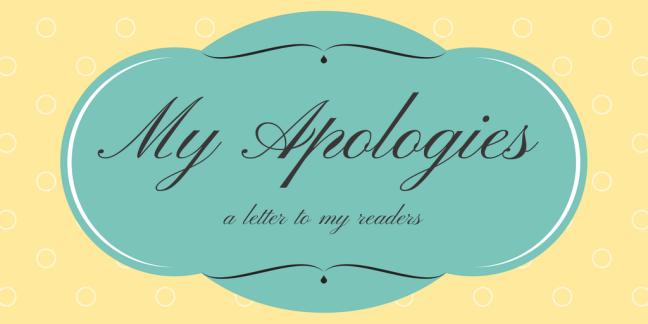 My Apologies | Beth Wangler
